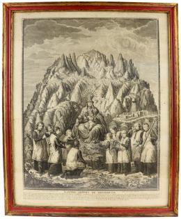 GRABADO DEL S.XVIII