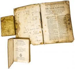 TRES LIBROS DE LOS SIGLOS XVIII I XIX