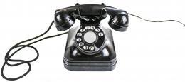 TELEFONO DE BAQUELITA AÑOS 40-50