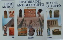 HISTORIA DEL ANTIGUO EGIPTO (3 VOLÚMENES).