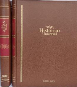 DOS ATLAS: ATLAS HISTÓRICO UNIVERSAL Y GRAN ATLAS MUNDIAL.
