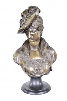ARNALDO GIANNELLI Dama con sombrero, 1968.