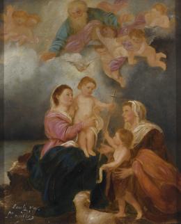 ESCUELA ESPAÑOLA SIGLO XX Virgen de Sevilla