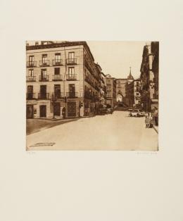 AMALIA AVIA (Santa Cruz de la Zarza ,Toledo, 1930 - Madrid, 2011) Calle de Toledo
