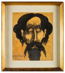 FRANCISCO HERNÁNDEZ (Melilla,1932 - Vélez-Málaga, 2012) Don Quijote, 1971