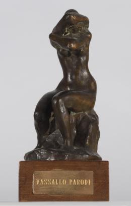 JUÁN LUIS VASSALLO PARODI (Cádiz, 1908-Madrid, 1986) Figura femenina
