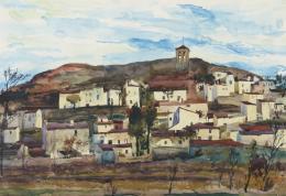 LUIS GARCÍA-OCHOA (San Sebastián, 1920) Paisaje La Olmeda