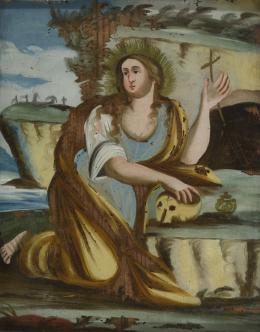 ESCUELA ESPAÑOLA S. XVIII Magdalena