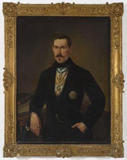 ESCUELA ESPAÑOLA S. XIX Retrato de abogado