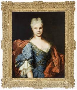 SEGUIDOR DE NICOLAS DE LARILLIÉRE (París, 1656-1746) Retrato de Dama