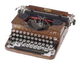Maquina de escribir Royal.