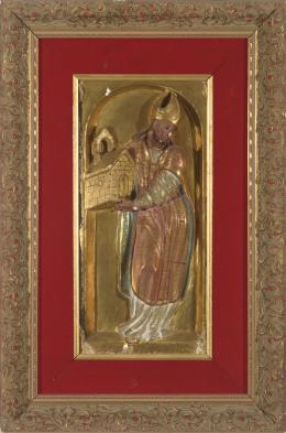 ESCUELA ESPAÑOLA SIGLO XVII San Agustin y San Jerónimo, Doctores de la Iglesia