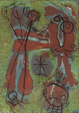 JOAN MIRÓ ( Barcelona, 1893- Mallorca, 1983) Anti- Platón