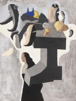 JORGE CASTILLO (1933). Pintor pontevedrés FIGURAS
