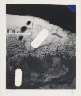 ANTONI CLAVÉ (1913 - 2005). Pintor barcelonés SIGNES, 1976
