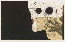 ANTONI CLAVÉ (1913 - 2005). Pintor barcelonés GANT, 1975