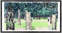 JEAN PIERRE CASSIGNEUL (Francia, 1935) Un après-midi au bois, 1988