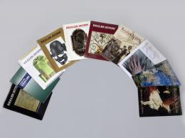 "Revista ""Reales Sitios"": Índices 1964-1992; Año XXVI nº 101; Año XXIX nº 114; Año XXXI nº 119, 121, 122, 123, 124; Año XXXII nº126; Año XLIV nº173. 10 números en total."