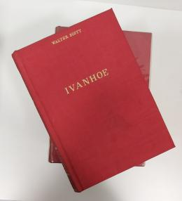 """V.V.A.A. Biblioteca de obras famosas. 5 tomos: 1-Bécker """"Rimas y Leyendas"""", 5-Cayo Suetonio """"Vidas de los Césares"""", 8,-Dostoiewski """"Crimen y castigo"""" 13-Walter Scott """"Ivanhoe"""" y 16-Beecher Stone """"La cabaña del tío Tom""""."""