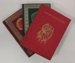 """Lote de 3 volúmenes: """"Las mil y una noches""""; Dos tomos de Biblioteca Histórica """"Santiago Ramón y Cajal"""" y """"Los viajes de Marco Polo"""""""