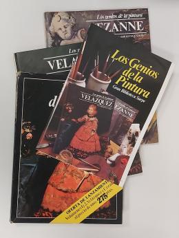 V.V.A.A. Los Genios de la Pintura. Gran Biblioteca Sarpe. Números 1-Velázquez y 2-Cezanne.