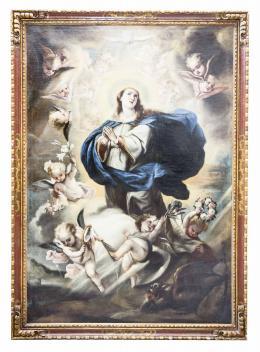 ANÓNIMO ESPAÑOL CA. 1700 Inmaculada