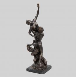 EL RAPTO DE LA SABINA, SIGUIENDO MODELOS DE JUAN DE BOLONIA (1529-1608) Escultor italiano