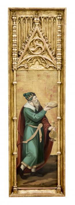 MELQUISEDEC, REY DE SALEM, COPIA DEL ORIGINAL DE JUAN DE JUANES (1503 – 1579). Pintor valenciano