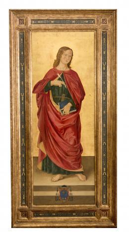 SAN JUAN EVANGELISTA, COPIA DEL ORIGINAL DE ANTONIZZO ROMANO (1452 – 1508). Pintor italiano