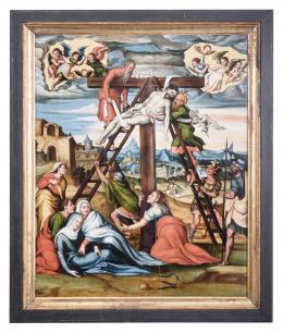 JUAN DE SOREDA (?, 1506 - El Burgo de Osma, 1537) Descendimiento