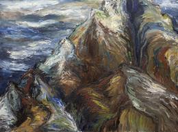 SOL GORBEA TORRE (1934 - 1995) Pintora bilbaína MLROJO, 1986