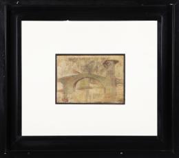 JUAN ANTONIO FRADE PRIETO (1914-1992) Pintor bilbaíno PUENTE KURSALS SOBRE RÍA