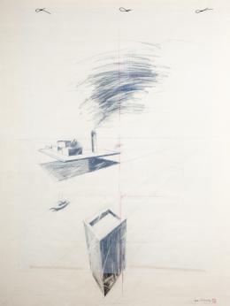 JUAN ECHEGOYEN KRUG (1950) Pintor bilbaíno VENECIA 3