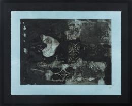ANTONI CLAVÉ (1913 - 2005) Pintor barcelonés POCHOIR
