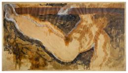 MIGUEL GALANDA (1951) Pintor zaragozano SIN TÍTULO, 1985