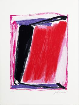 JOSE GUERRERO (1914-1991). Pintor granadino Sin título, 1984