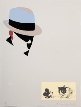 EDUARDO ARROYO (1937). Pintor madrileño Sin título, 1984