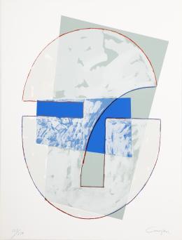 RAFAEL CANOGAR (1935). Pintor castellano manchego CABEZA, 1984