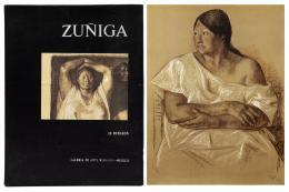 FRANCISCO ZUÑIGA (1912-1998) Libro de 20 Dibujos. Galería de Arte Misrachi-Mexico