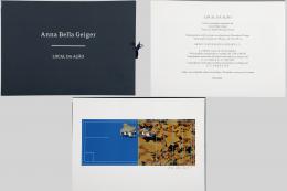"""ANNA BELLA GEIGER (Río de Janeiro, 1933) CARPETA DE GRABADOS """"LOCAL DA AÇAO"""", 2006"""