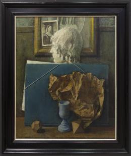 ZACARIAS GONZALEZ (1922-2003) Pintor salmantino BODEGÓN. COLECCIÓN DIBUJOS