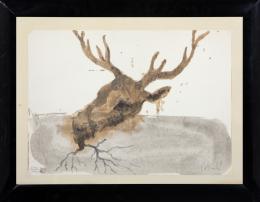 MIQUEL BARCELÓ (1957) Pintor mallorquín CABEZA RAÍZ