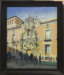 SANTIAGO DÍAZ SANTOS (1940) Pintor madrileño MUSEO MUNICIPAL, MADRID