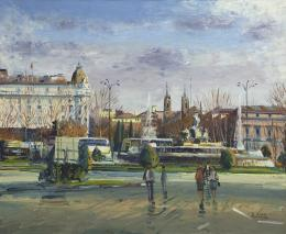 SANTIAGO DÍAZ SANTOS (1940) Pintor madrileño NEPTUNO, MADRID