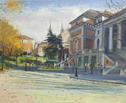 SANTIAGO DÍAZ SANTOS (1940) Pintor madrileño MUSEO DEL PRADO, MADRID