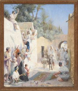 ESCUELA FRANCESA FINALES DEL S. XIX- PPIOS DEL S.XX Entrada de Cristo en Jerusalén