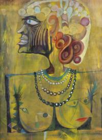 "JOSEP MARIA ROVIRA I BRULL (1926-2000). ""HOMENAGE A 'PAUL K"