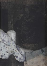 """FRANCISCO FARRERAS RICART (1927). """"COMPOSICIÓN"""", 1981."""