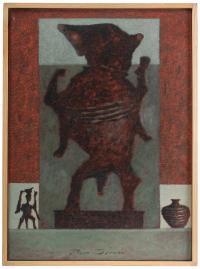 "PACO DURAN VILA (1955). ""FETICHE AFRICANO"", 2004."