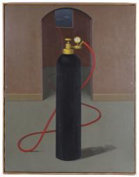 """ANDRÉS RÁBAGO (1947). """"LA ANUNCIACIÓN"""", 1994."""